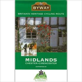 The National Byway® West Midlands map cover image