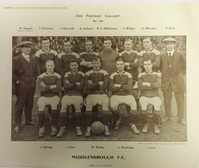 Middlesbrough Fc Photograph Collector