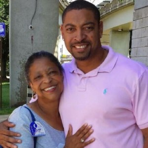 A family photo of Jacqueline Fox and her son, Marvin Salter.