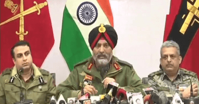 army crpf jammu kashmir police joint press conference on pulwama attack
