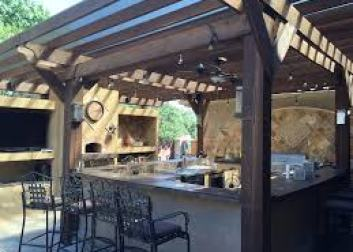 retractable roof pergola