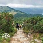 self guided hiking, Carpatian mountains, Poland, babia gora 2