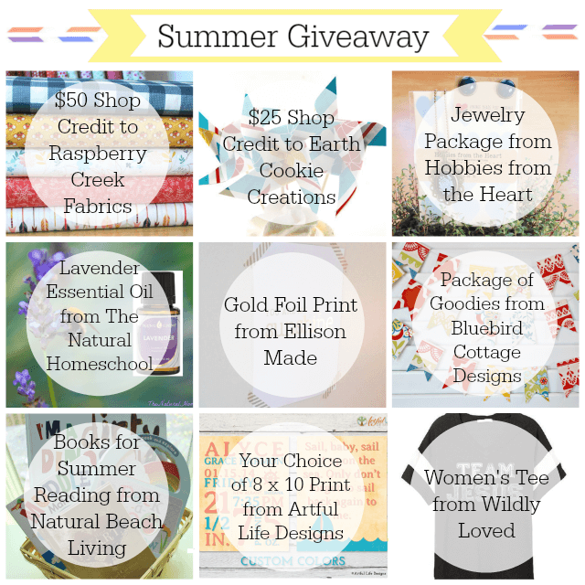 HUGE Giveaway Gearing Up For Summer The Natural Homeschool