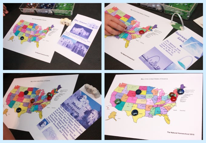 Tour of the USA   Awesome Map of the United States Printable Bundle     This is another fun set on our Tour of the USA series   Map of the