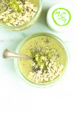 CHIA MATCHA OVERNIGHT BREAKFAST SMOOTHIE (adapted by CotterCrunch)