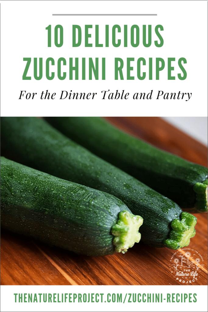 10 Zucchini Recipes