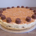Rolo No Bake Cheesecake Gluten Free