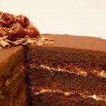 Gluten Free Black Forest Layer Cake