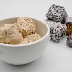 Gluten Free Lamington Ice Cream
