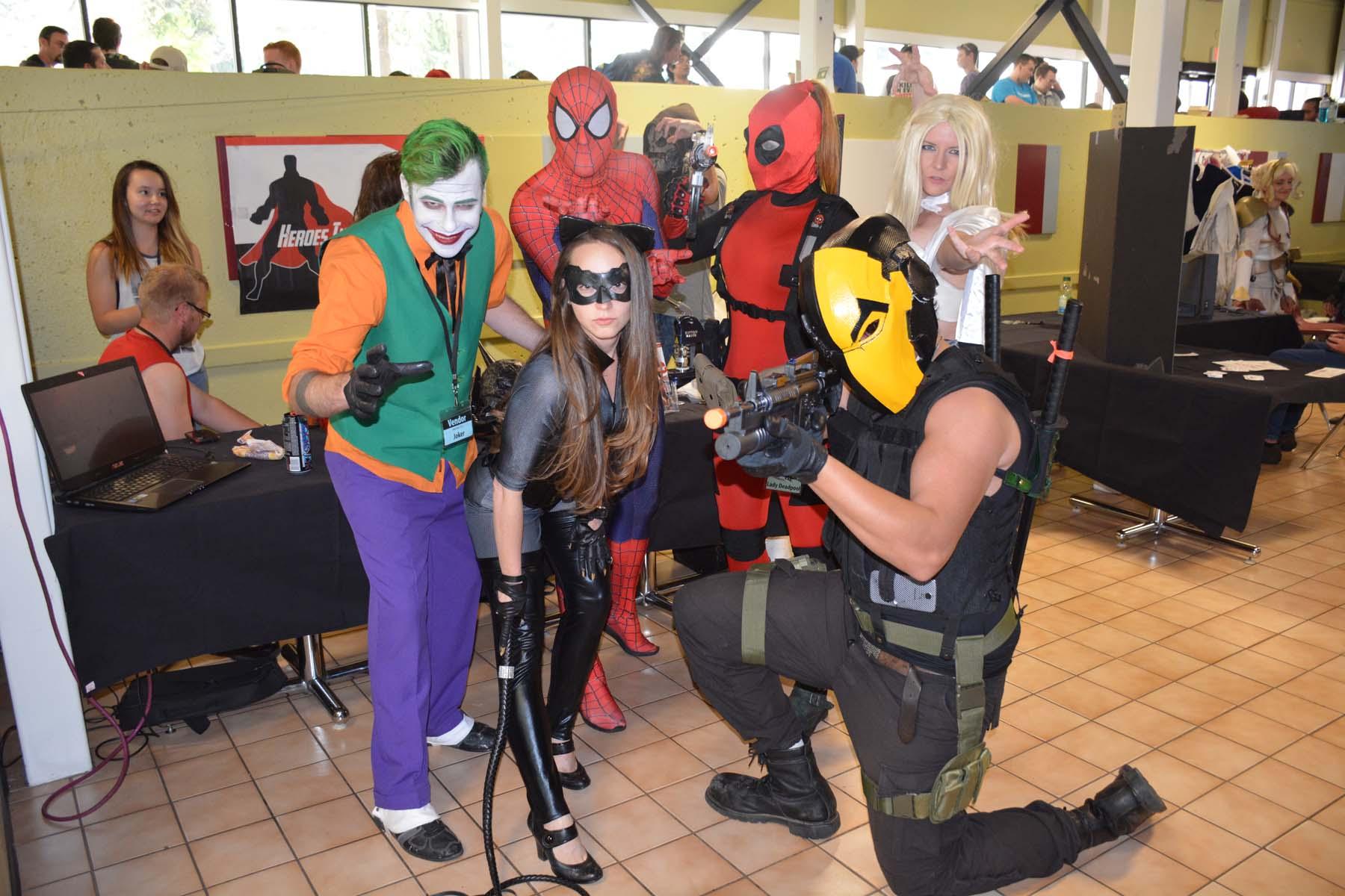3joker-spiderman-deadpool-unknown-catwoman
