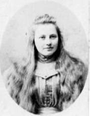 One of the only pictures of Leah Westwood. Courtesty of ancestry.ca.