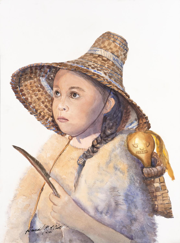 """Image is a scan of Daniel Elliott's """"The Kelp Doll"""""""