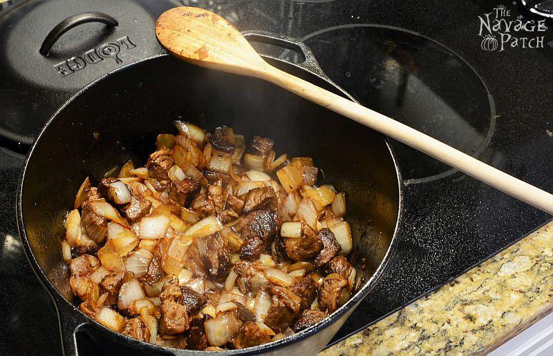 Turkish Chick Pea Stew | TheNavagePatch.com