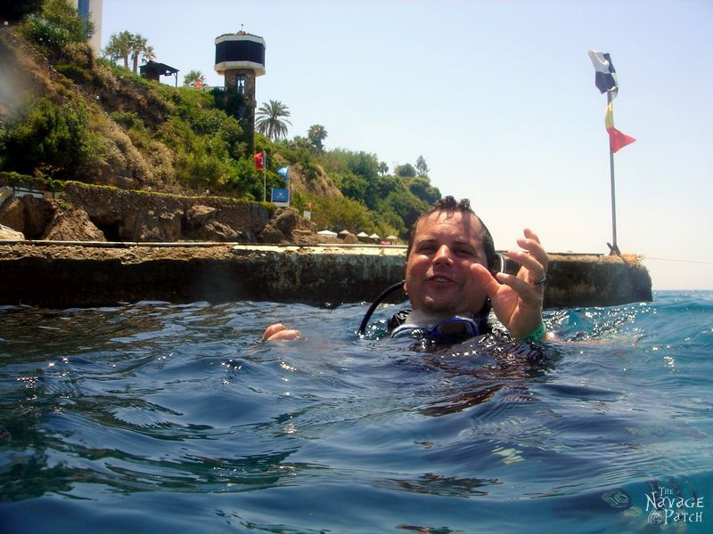The Antalya Interlude: Swimming with Handan | TheNavagePatch.com