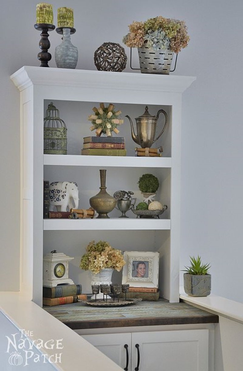 Diy Built In Bookcase The Navage Patch