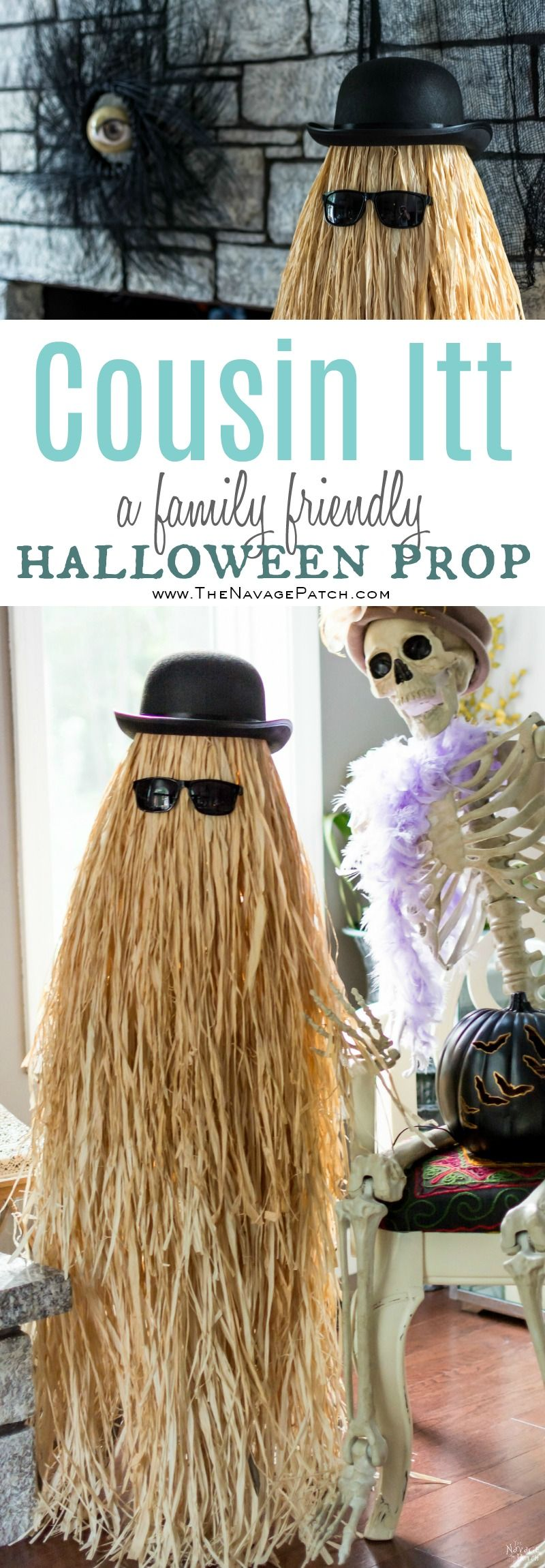 cousin itt halloween prop easy and budget friendly diy halloween prop diy - Super Cheap Halloween Decorations