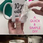 Diy Cricut Infusible Ink Valentine S Mugs No Mug Press Needed