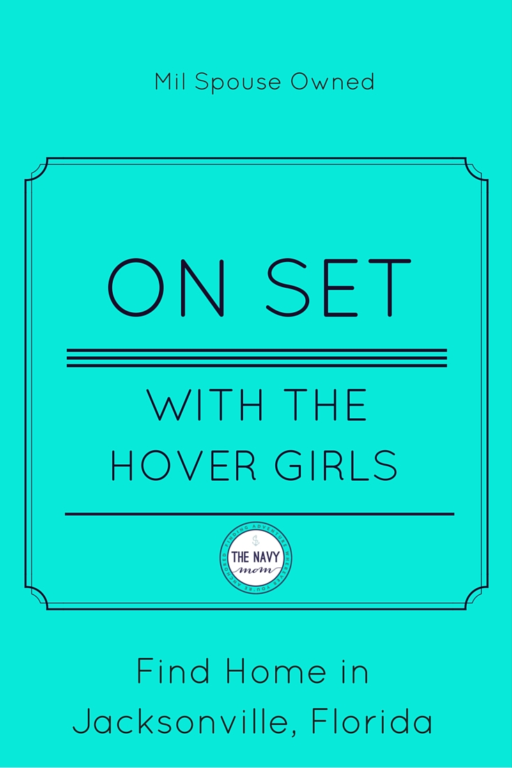 On Set with the Hover Girls-Military Relocation Specialists in Jacksonville, Florida