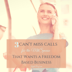 3 Free Training Calls for Military Spouses