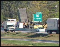 I – 75 to CLOSE COMPLETELY from Cygnet Rd. to US 6