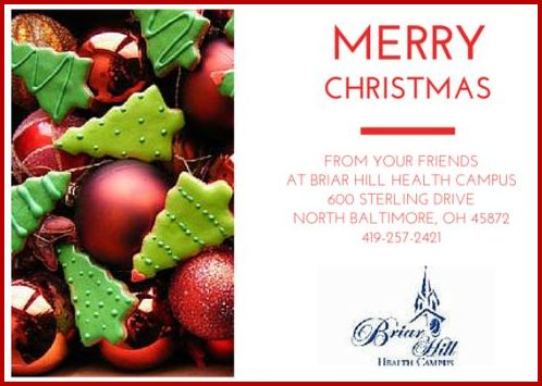 Briar Hill Health Christmas Greetings2