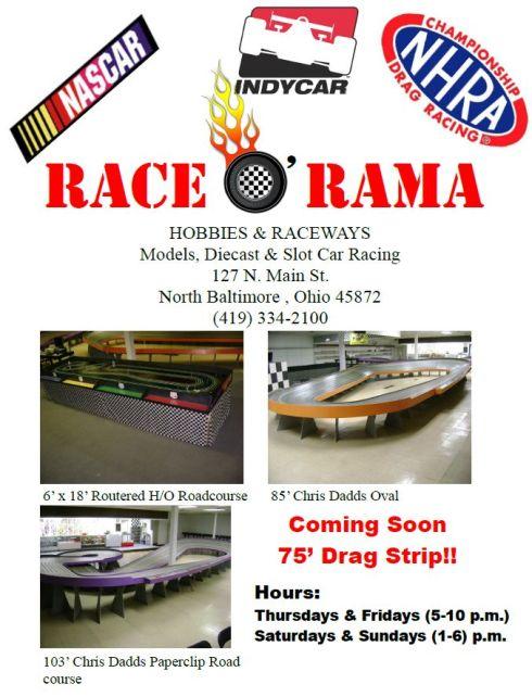 Race o Rama flyer Dec. 3