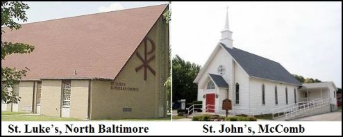 St. Luke's and St. John's Lutheran Churches