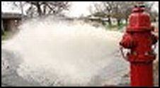 Hydrant Flushing TODAY!