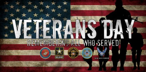 Attention All Local Veterans: Ceremony to Be Held