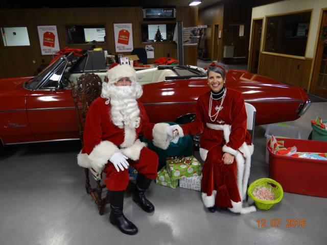 NBACC Santa Visit Bike Winners and Photos