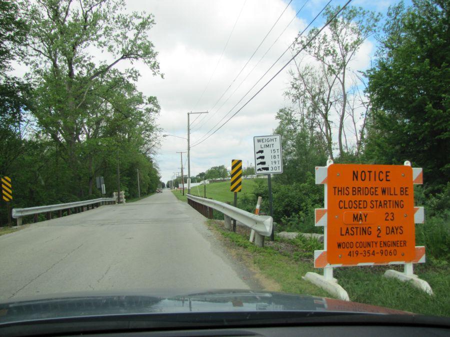 Bridge Closure in North Baltimore