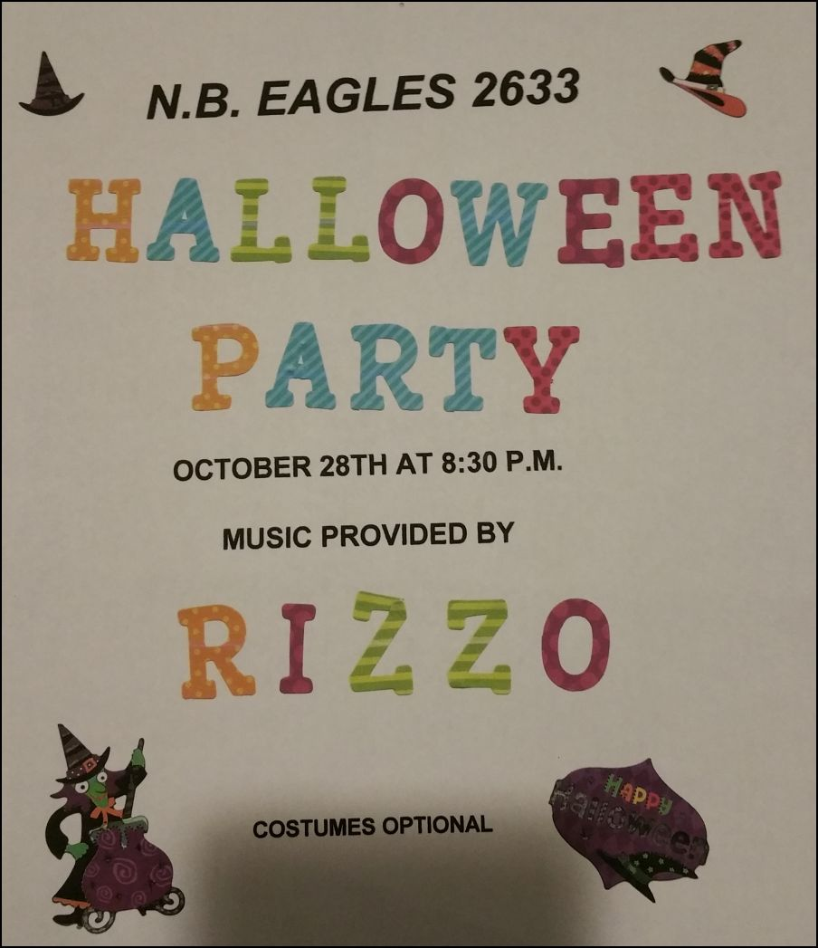 Halloween Party at NB Eagles