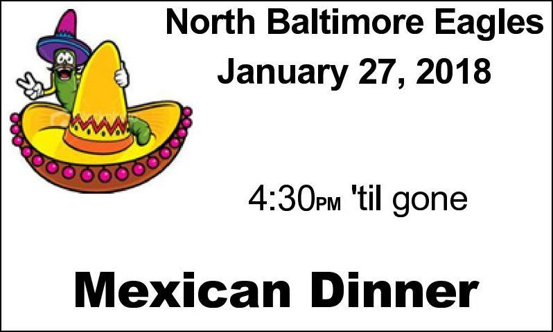 NB Eagles Mexican Dinner & Karaoke