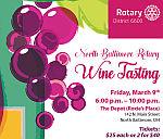 Rotary Club Hosting Wine Tasting Event