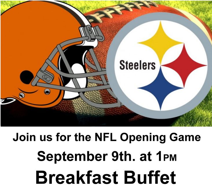 Browns – Steelers Breakfast Buffet at Eagles