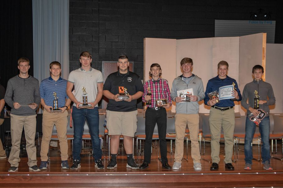 NBHS Football 2018 Awards