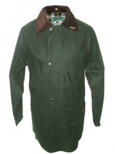 W14 Countryman Padded Wax Jacket