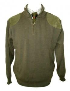 K21 Half Zip Wool Jumper