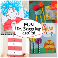 Fun Dr. Seuss Crafts for Dr. Seuss Day!