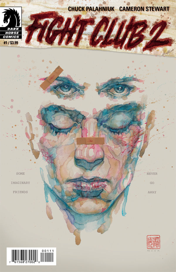 Fight Club 2 Issue 1 Cover