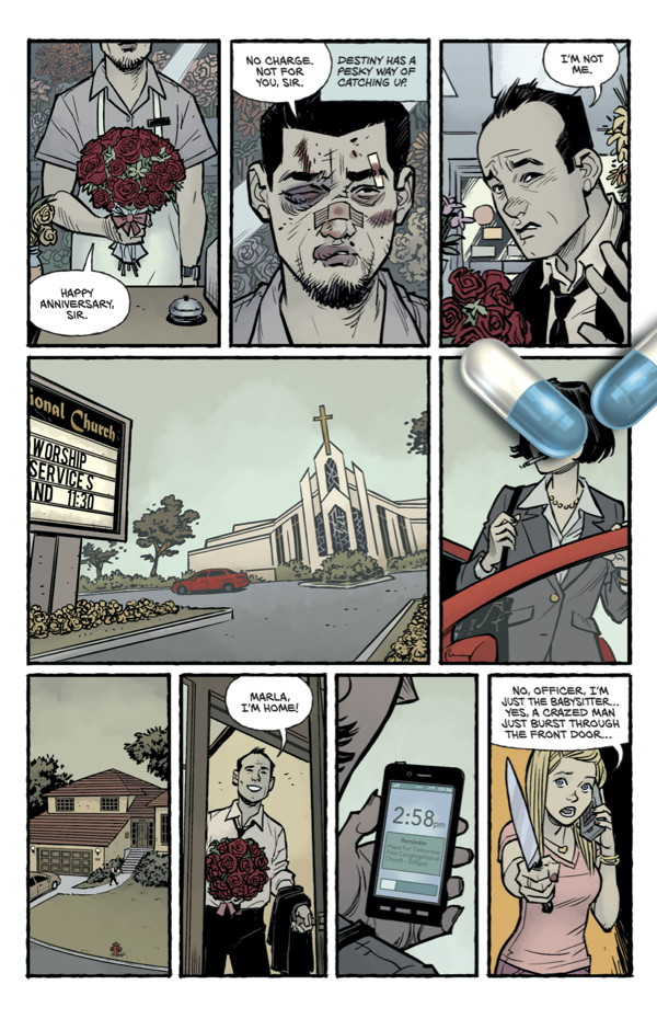 Fight Club 2 Panel 2
