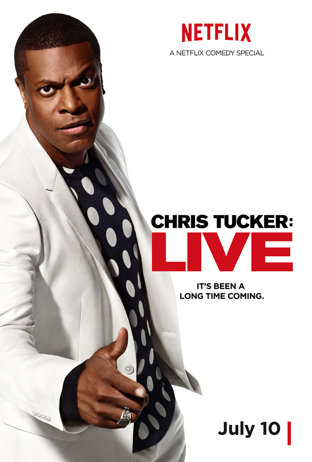Chris Tucker Live Poster