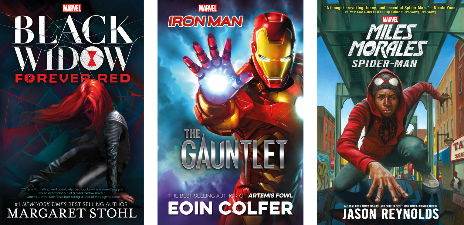DC and Marvel Young Adult Books | The Nerd Daily