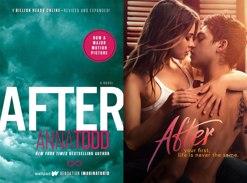 After Anna Todd Book Movie Comparison