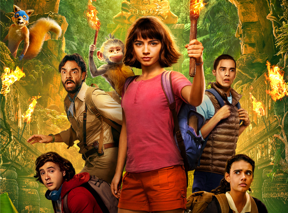 Movie Review Dora And The Lost City Of Gold The Nerd Daily