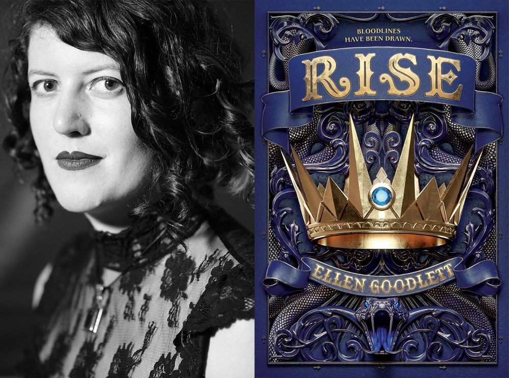 Ellen Goodlett Author Interview