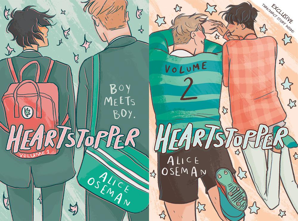 Recap: 'Heartstopper' Vol 1 + 2 by Alice Oseman | The Nerd Daily
