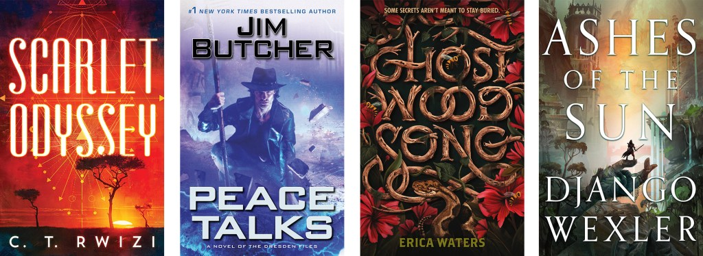 July 2020 Fantasy and Sci-Fi Book Releases