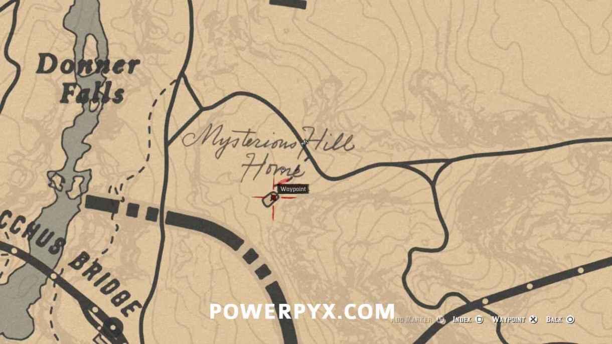 Red Dead Redemption 2 Pontos de Interesse Guia