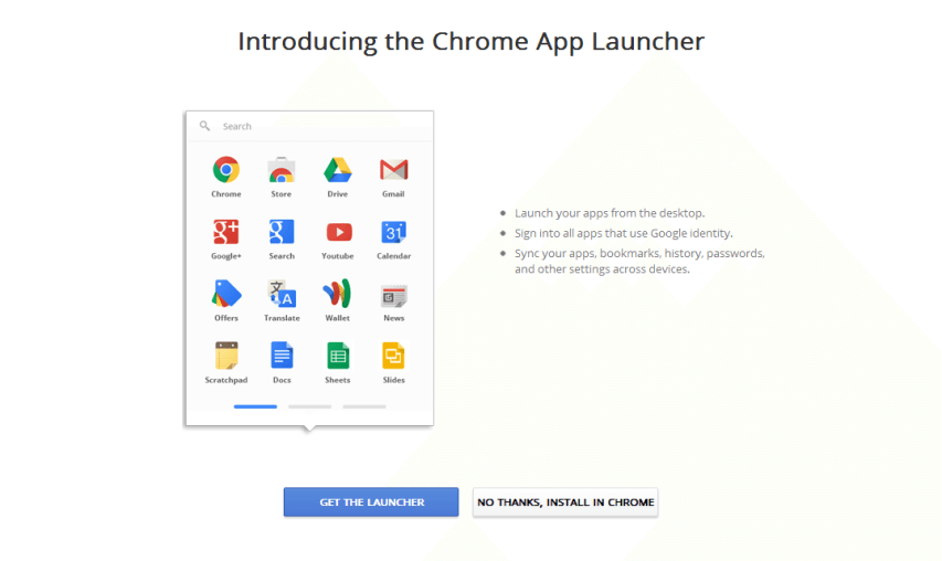 Chrome apps to reach Android and iOS next month